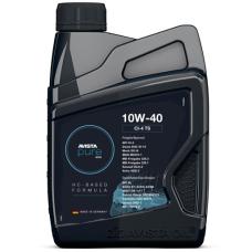 Моторное масло для грузового коммерческого транспорта Avista pure EVO CI-4 TS (Lightrun 2000 SAE 10W40) 10W40 1л