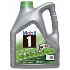 Моторное масло Mobil 1 ESP X3 0W40  4л