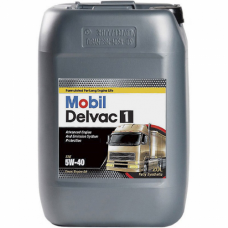 Масло для грузового коммерческого транспорта Mobil Delvac  1  5W40 20л