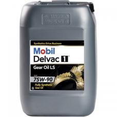 Масло для грузового коммерческого транспорта Mobil Delvac 1 GEAR OIL LS 75W-90  20л