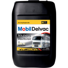 Масло для грузового коммерческого транспорта Mobil Delvac MX  Extra 10W40 20л