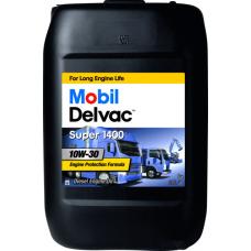 Масло для грузового коммерческого транспорта  Mobil Delvac Super 1400 10W30 20л