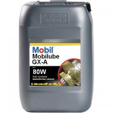 Масло трансмиссионное Mobil Mobilube GX-A 80W  20л