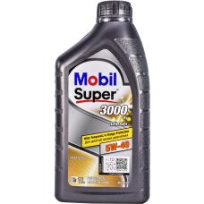 Моторное масло Mobil Super 3000 Х 1 DIESEL 5W40   1л