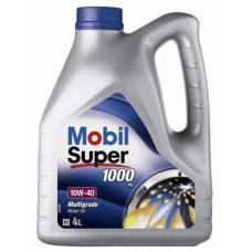 Моторное масло Mobil Super 1000  10W40   4л