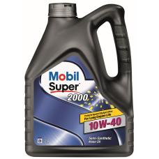 Моторна олива  Mobil Super 2000 X1 10W-40    4л