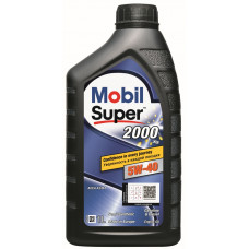 Моторное масло Mobil Super 2000 x3 5W-40    1л