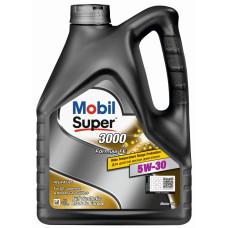 Моторное масло Mobil Super 3000 x1 Formula FE  5W30   4л