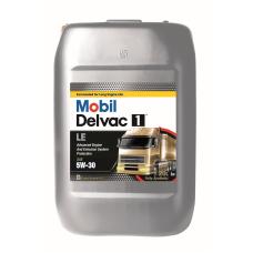 Масло для грузового коммерческого транспорта Mobil Delvac 1 LE 5W30 20л