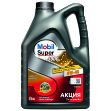 Моторное масло  Mobil Super 3000 X1 5W-40   5л