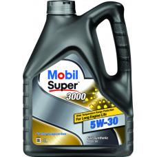 Моторное масло Mobil Super 3000 Diesel 5W-40    4л